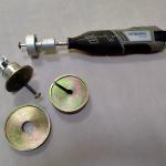 Расточное устройство с набором кондукторов для Измерителя прочности материалов ОНИКС-1