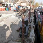 Причал приема сточных вод и сухого мусора, г. Саратов, р. Волга