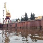 Достроечная набережная ПАО «Ярославский судостроительный завод», г. Ярославль, р. Волга