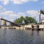 Причальная набережная ОАО «Тольятти Азот», г. Тольятти, р. Волга
