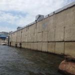Пассажирский причал № 9 ОАО «Волгоградский речной порт», р. Волга